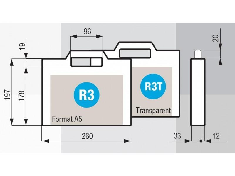 valise mallette plastic case r03 caltech. Black Bedroom Furniture Sets. Home Design Ideas