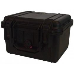 Valise PELI 1300 avec mousse, Noir