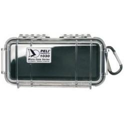 Coffret 1030 MicroCase™ Fond noir, couvercle transparent