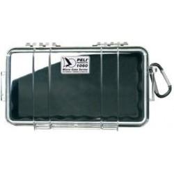 Coffret 1060 MicroCase™ Fond noir, couvercle transparent