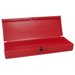Carton de 100 plumiers rouges en plastique P03