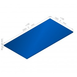 Plaque de mousse de polyéthylène PLASTAZOTE / Référence PER33-28BU