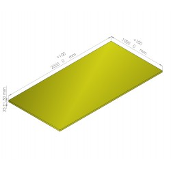 Plaque de mousse de polyéthylène PLASTAZOTE / Référence PER33-25J
