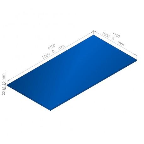 Plaque de mousse de polyéthylène PLASTAZOTE / Référence PER33-20BU