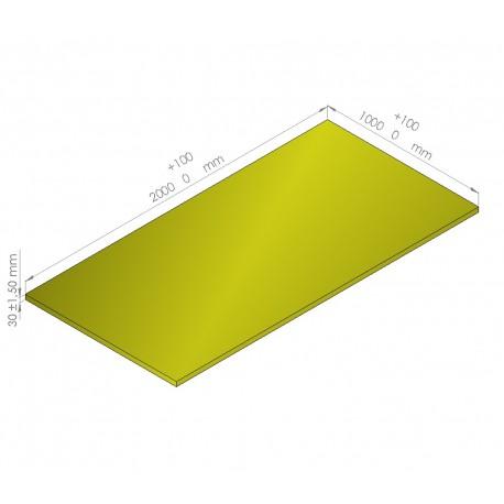 Plaque de mousse de polyéthylène PLASTAZOTE / Référence PER33-30J