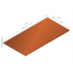 Plaque de mousse de polyéthylène PLASTAZOTE / Référence PER33-35O