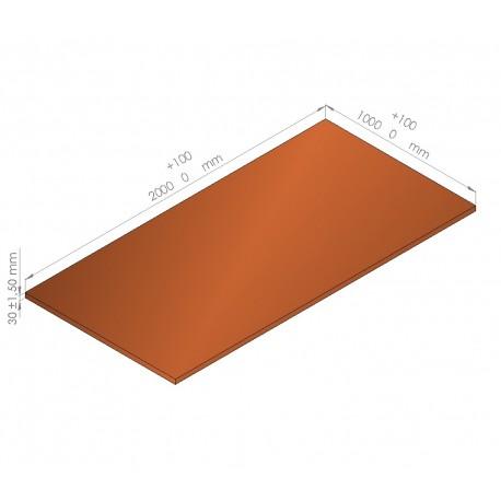 Plaque de mousse de polyéthylène PLASTAZOTE / Référence PER33-30O
