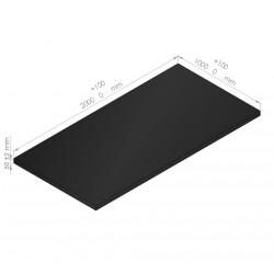 Plaque de mousse polyéthylène 65 Kg/m3 épaisseur  50 mm
