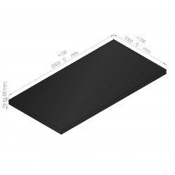 Plaques de mousse polyéthylène 65 Kg/m3 épaisseur  70 mm