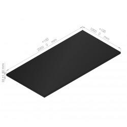 Plaque de mousse polyéthylène 65 Kg/m3 épaisseur  35 mm