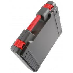 Valise / mallette Polycase H4044 noire