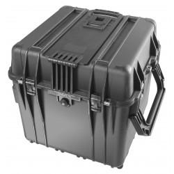 """Valise PELi 0370 24"""" Valise Cube, avec mousse, sans roues Noir"""