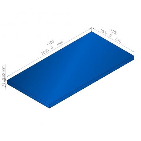 Plaque de mousse de polyéthylène PLASTAZOTE / Référence PER33-75BU