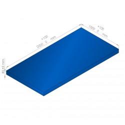 Plaque de mousse de polyéthylène PLASTAZOTE / Référence PER33-85BU