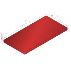 Plaque de mousse de polyéthylène PLASTAZOTE / Référence PER33-90R