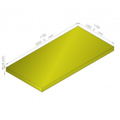 Plaque de mousse de polyéthylène PLASTAZOTE / Référence PER33-90J
