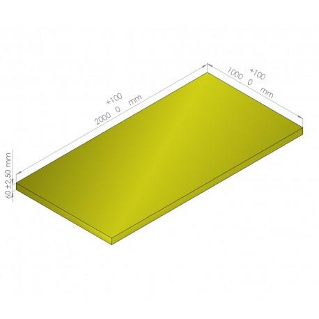 Plaque de mousse de polyéthylène PLASTAZOTE / Référence PER33-60J