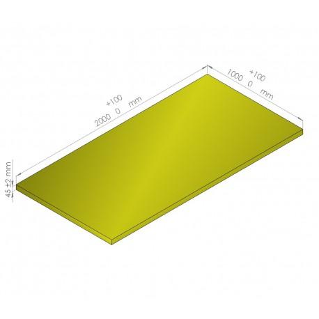 Plaque de mousse de polyéthylène PLASTAZOTE / Référence PER33-45J