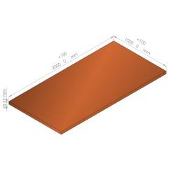 Plaque de mousse de polyéthylène PLASTAZOTE / Référence PER33-45O