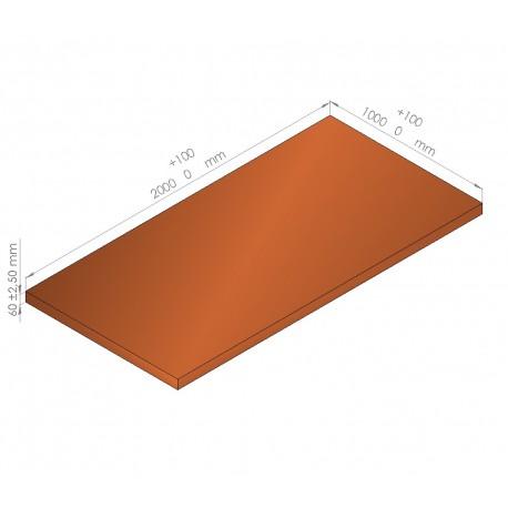 Plaque de mousse de polyéthylène PLASTAZOTE / Référence PER33-60O