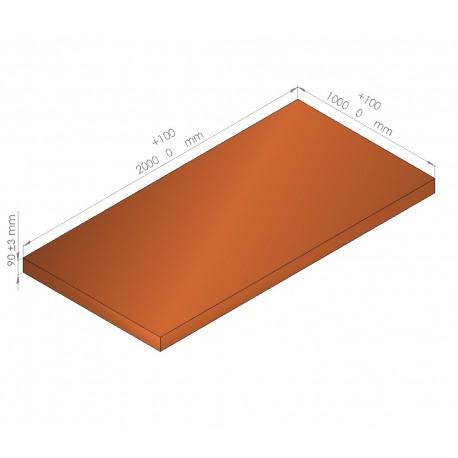 Plaque de mousse de polyéthylène PLASTAZOTE / Référence PER33-90O