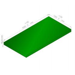 Plaque de mousse de polyéthylène PLASTAZOTE / Référence PER33-90V