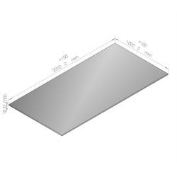 Plaque de mousse de polyéthylène Plastazote épaisseur 15 mm