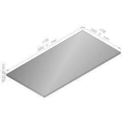 Plaque de mousse de polyéthylène PLASTAZOTE épaisseur 30 mm blanc