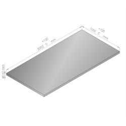 Plaque de mousse de polyéthylène PLASTAZOTE épaisseur 40 mm