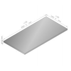 Plaque de mousse de polyéthylène PLASTAZOTE épaisseur 45 mm