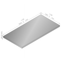 Plaque de mousse de polyéthylène PLASTAZOTE épaisseur 55 mm