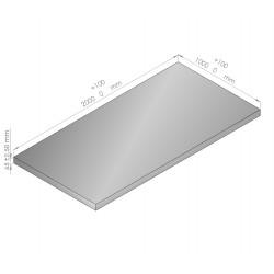 Plaque de mousse de polyéthylène PLASTAZOTE épaisseur 65 mm