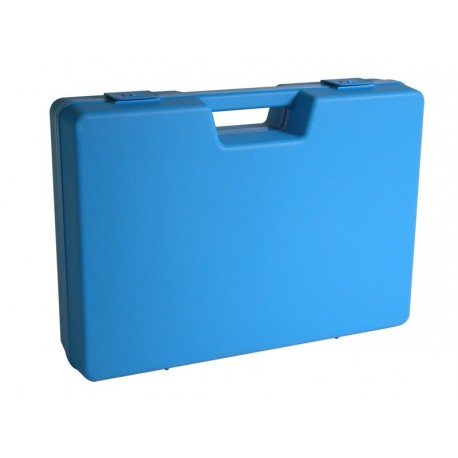 Jeux de 4 mallettes en plastique bleue B01