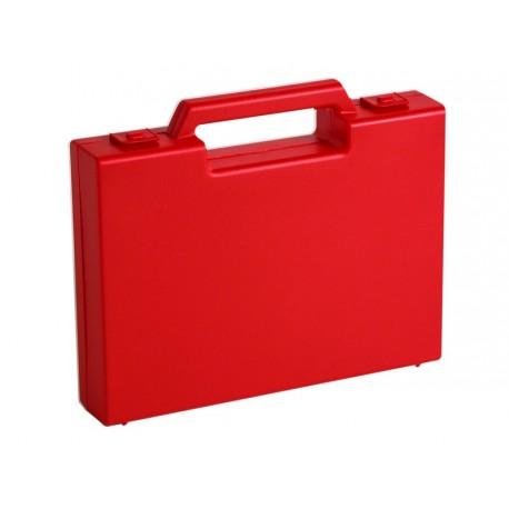 Jeux de 20 mallettes en plastique rouge R02