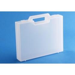 Carton de 20 mallettes plastique transparent R03