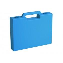 Carton de 20 mallettes plastique bleu R03