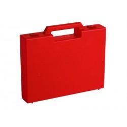 Carton de 20 mallettes plastique rouge R03